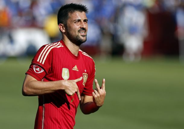 David Villa Returns to New York City FC