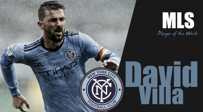 David Villa named MLS Player of the Week