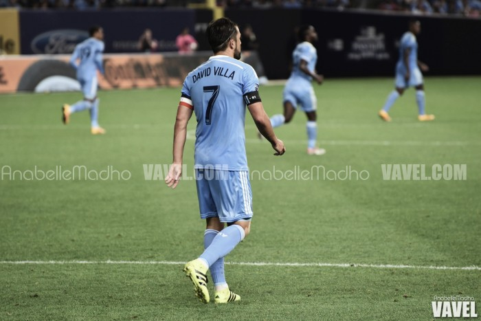 David Villa signs contract extension with NYCFC