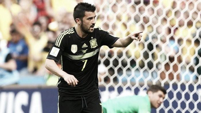 """David Villa: """"Para mí no será una decepción si no juego"""""""
