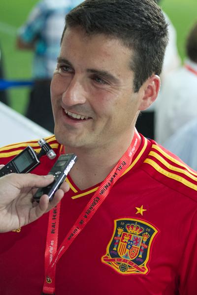 David Cal entregó su pala a la selección española