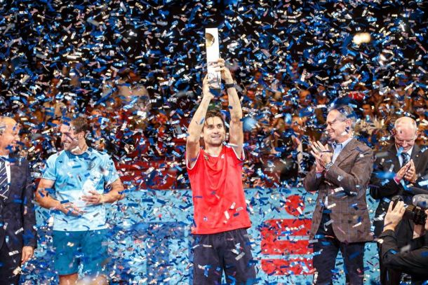 ATP Vienna: David Ferrer Wins Fifth Title Of Season In Tight Three-Setter Over Steve Johnson