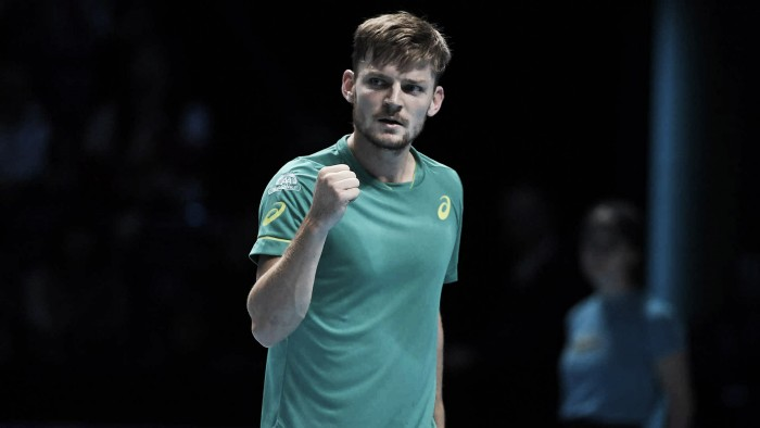 ATP World Tour Finals: David Goffin clinches remarkable upset over huge favorite Roger Federer