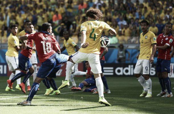 """David Luiz enaltece gol do Brasil: """"Jogada treinada"""""""