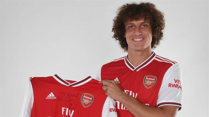 David Luíz troca Chelsea... pelo Arsenal
