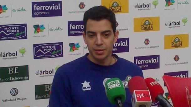 El CB Valladolid deja libre a David Navarro