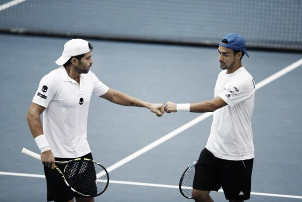 """Davis Cup, Fognini e Bolelli in coro: """"Vittoria fondamentale, domani dobbiamo chiudere i conti"""""""