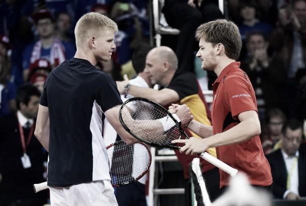 """Davis Cup, Goffin: """"La svolta nel terzo set"""". Edmund: """"Deluso, ma ho fatto il massimo"""""""