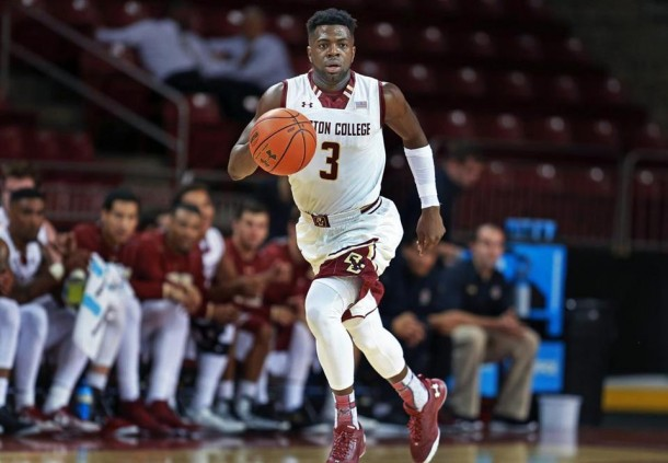 Eli Carter Leads Boston College Eagles To 75-49 Season-Opening Win Over St. Francis (NY) Terriers