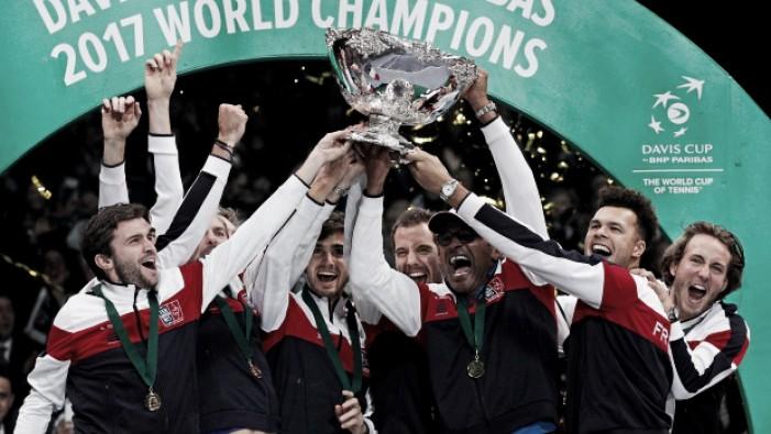 Bélgica empata final da Taça Davis