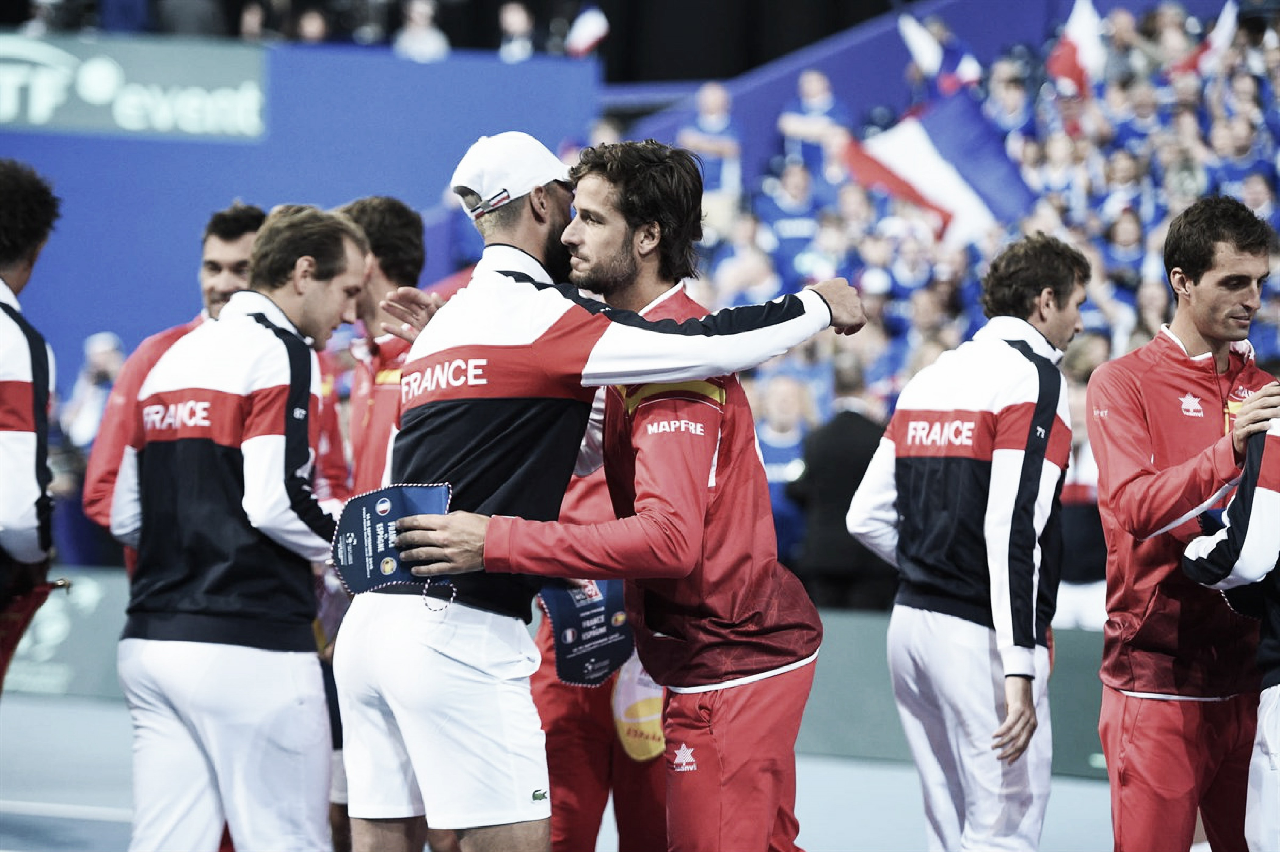 Resumen Francia 3-0 España en semifinales Copa Davis 2018