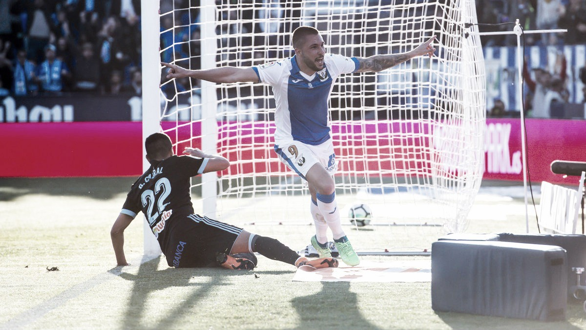 Leganés vence Celta e praticamente assegura sua permanência na La Liga