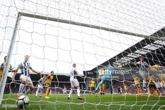 West Bromwich Albion 3-1 Arsenal: Dawson double sends Wenger spiralling further towards exit door