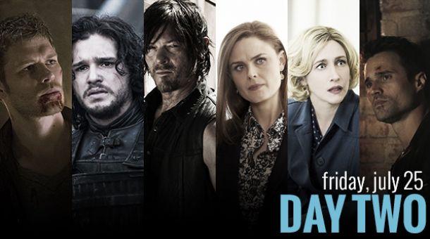 Comic-Con 2014: Día 2, más de 25 series para todos los gustos