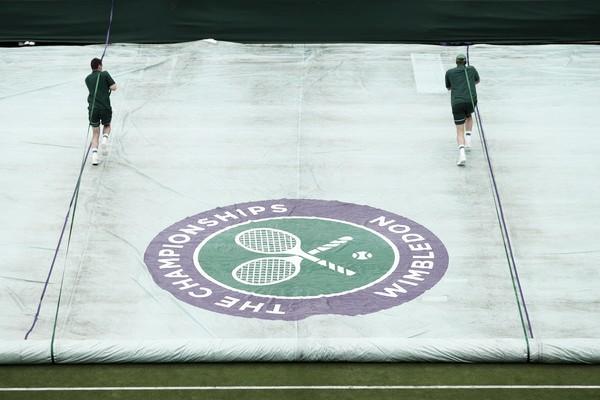 En Wimbledon todo está listo. Foto: Zimbio.