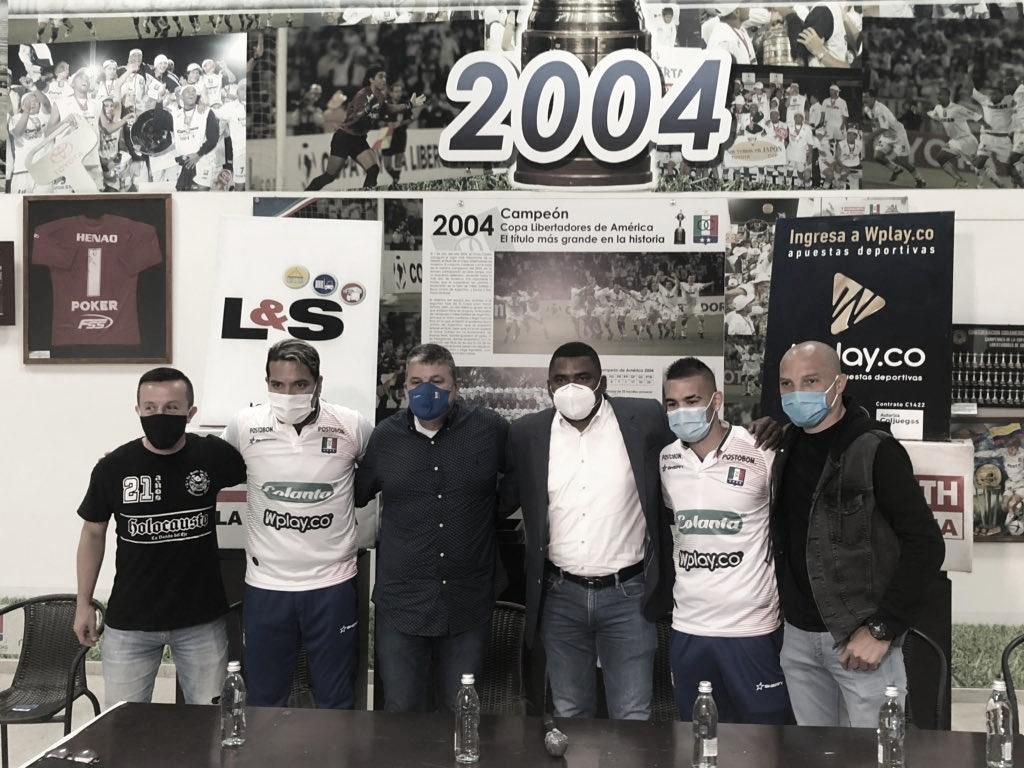 Dayro Moreno regresa al equipo del alma, nuevo fichaje del Once Caldas