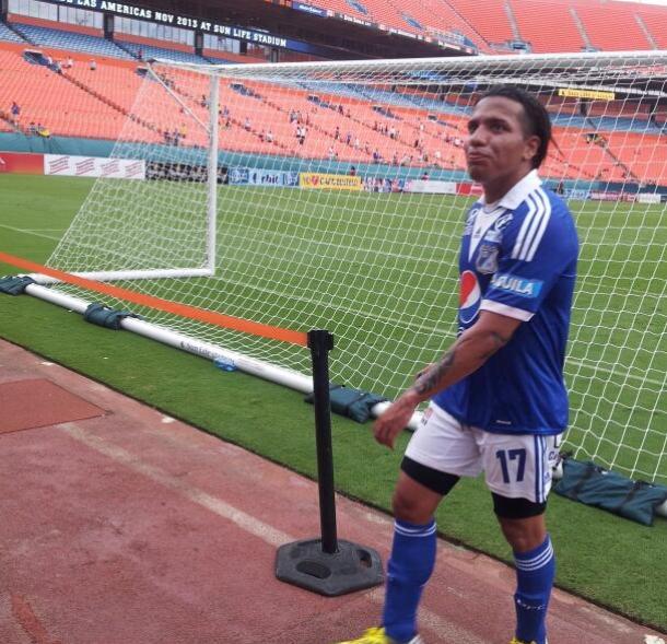 Debut goleador para Dayro Moreno en Millonarios