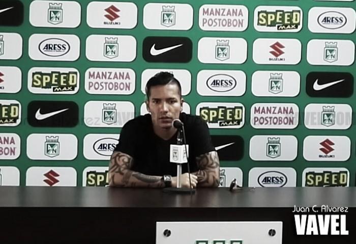 """Dayro Moreno: """"El fútbol da revanchas y tenemos esta oportunidad"""""""