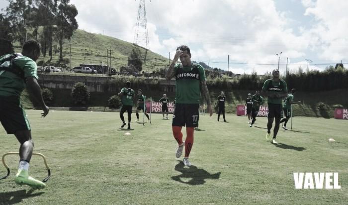 """Dayro Moreno: """"Lillo al jugador le exige mucho, nosotros tenemos que comprometernos y hacer las cosas muy bien"""""""