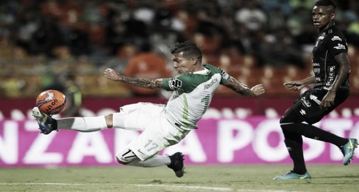 Dayro Moreno, fundamental en la victoria de Atlético Nacional