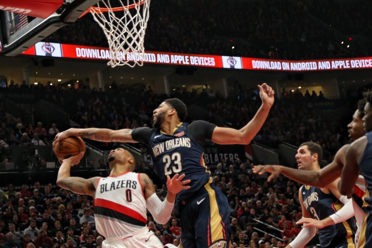 NBA - Più Davis di Lillard, gara 1 è dei Pelicans