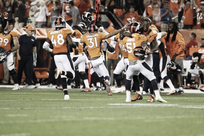 Denver Broncos win a close season opener against Carolina Panthers