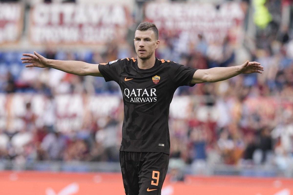"""Roma, parla Dzeko: """"La prossima stagione vogliamo ripeterci in Champions"""""""