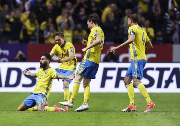 Qualificazioni Russia 2018 - La Svezia fa il colpaccio, battuta la Francia (2-1)