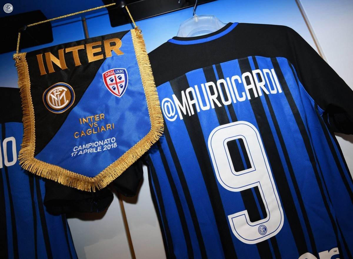 Inter - Cagliari in diretta, LIVE Serie A 2017/18 - Cancelo, Icardi, Brozovic, Perisic! (4-0)