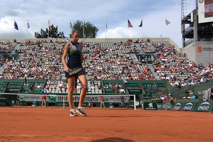 Roland Garros 2017, debutto vincente per Karolina Pliskova
