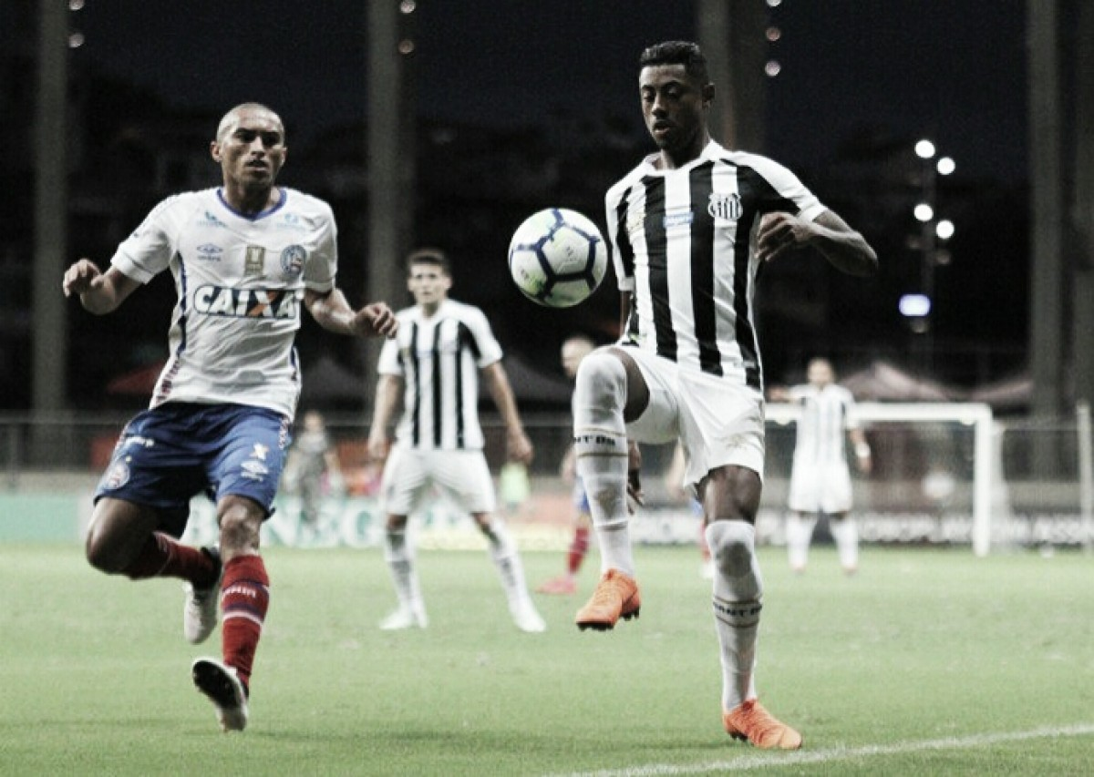 Bruno Henrique sofre lesão muscular e volta a ser desfalque no Santos