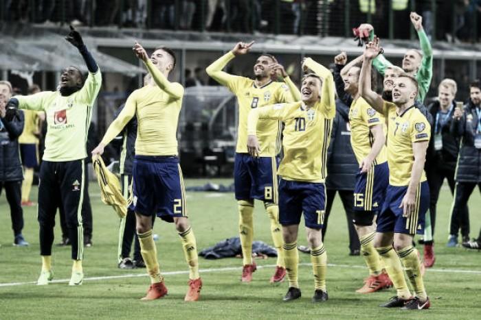 Ibra? Quem? Suécia mostra força sem o craque, derruba gigantes e vai à Copa de 2018 em alta