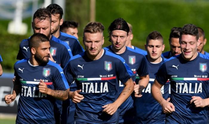 Italia-Uruguay, le formazioni ufficiali: Ventura sceglie il tridente con Belotti dal 1′