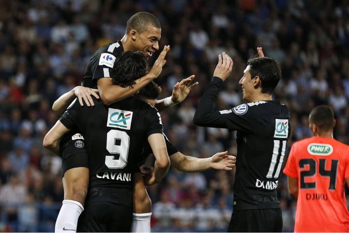 Coupe de France: il PSG liquida senza problemi il Caen, ora la finale contro il Les Herbiers