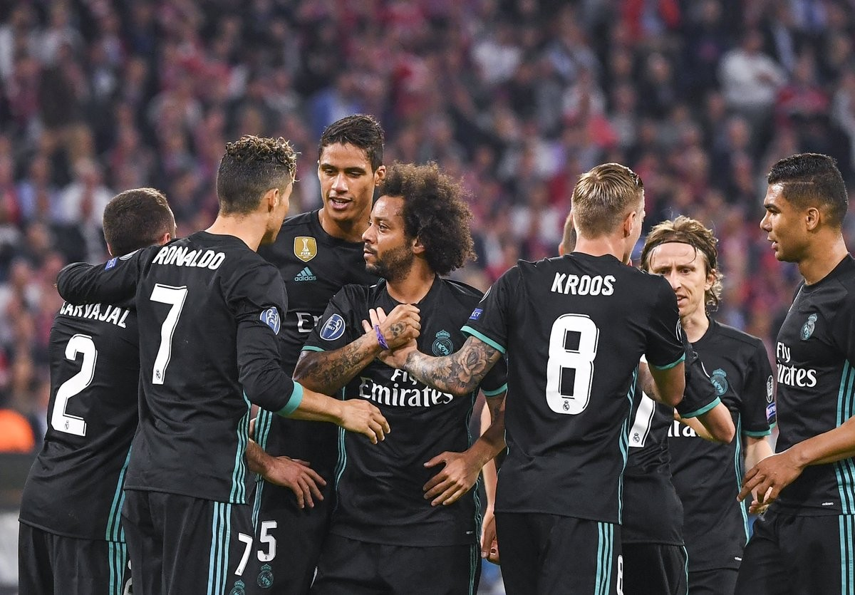 Champions League - Il Real Madrid batte il Bayern Monaco: 1-2 all'Allianz Arena