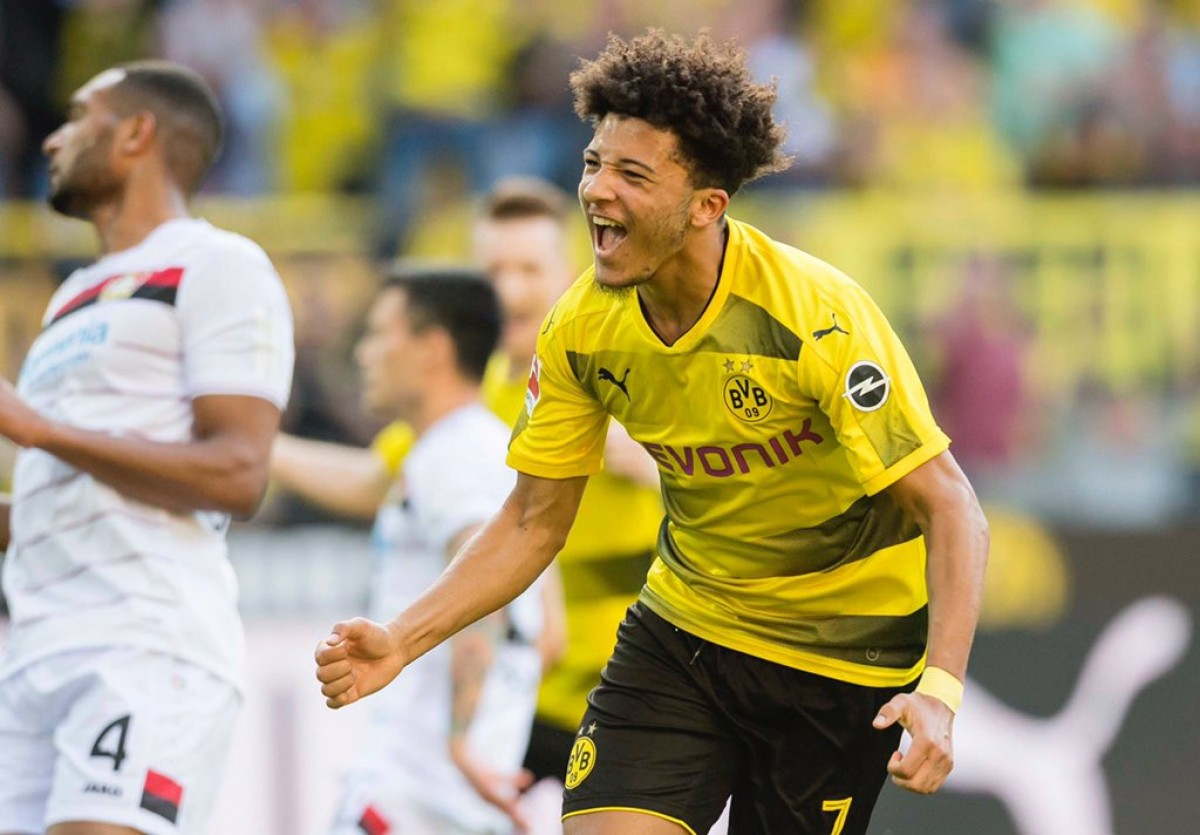 Maglia Home Borussia Dortmund Jadon Sancho