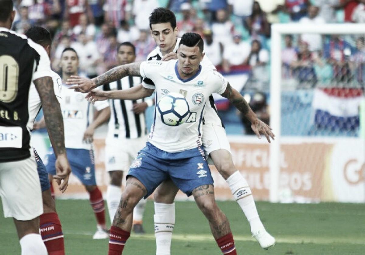 Notas: Vanderlei salva, mas não consegue evitar derrota do Santos para Bahia