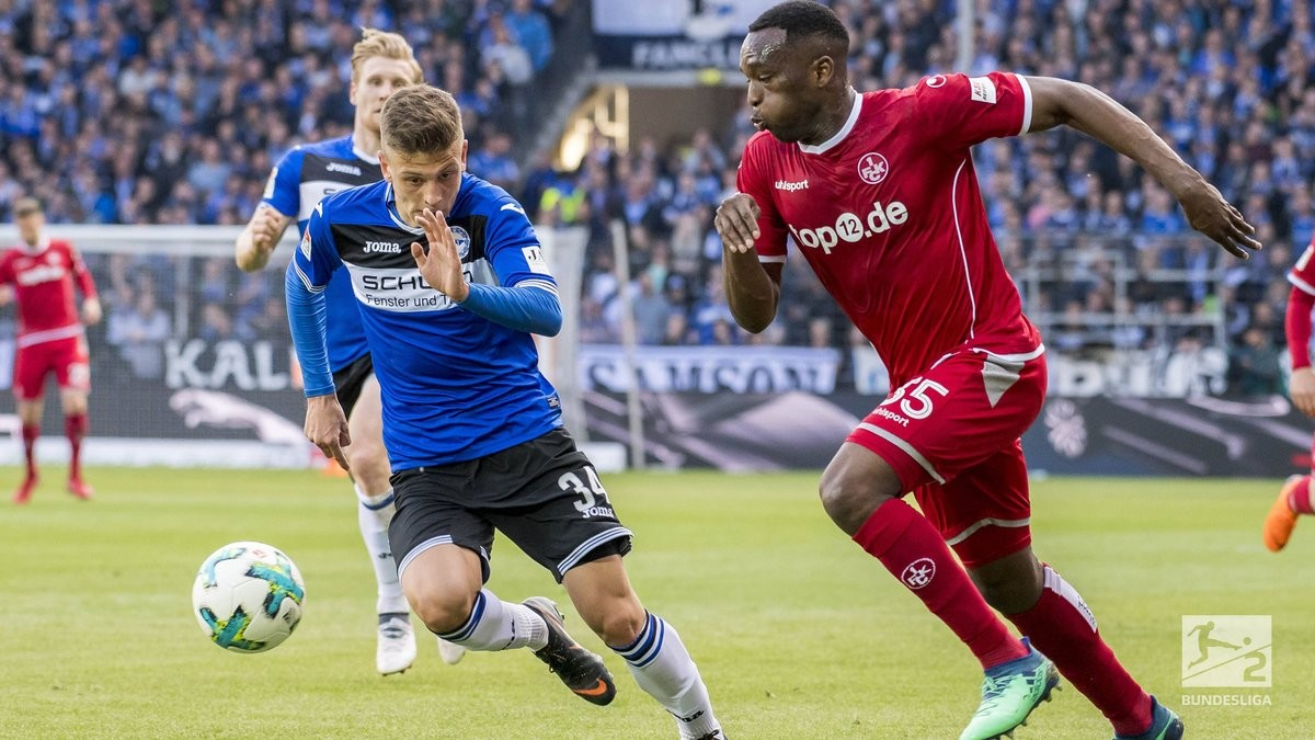 Arminia Bielefeld 3-2 1. FC Kaiserslautern:Red Devils collapse as relegation confirmed