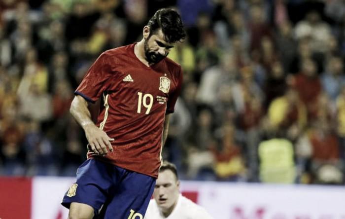 Spagna, Diego Costa e mezza difesa out contro la Macedonia