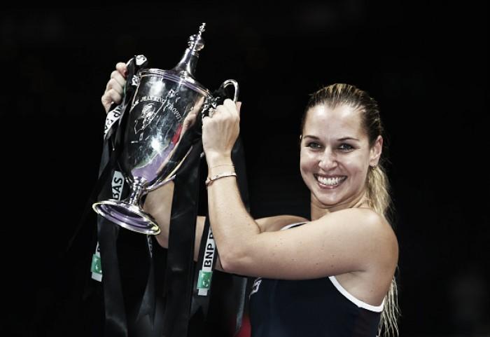 WTA Weekly Ledger: Dominika Cibulkova caps off monumental season by winning WTA Finals on debut