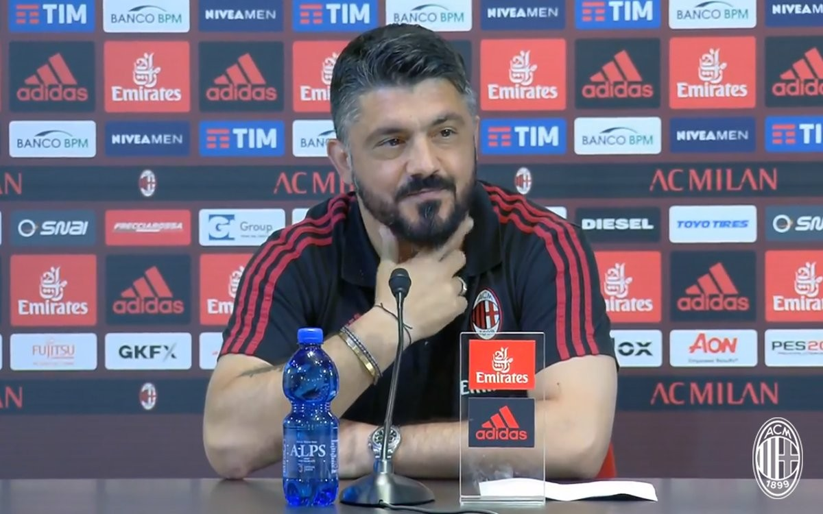 """Milan, Gattuso carica l'ambiente rossonero: """"Vincere per conquistare l'Europa"""""""