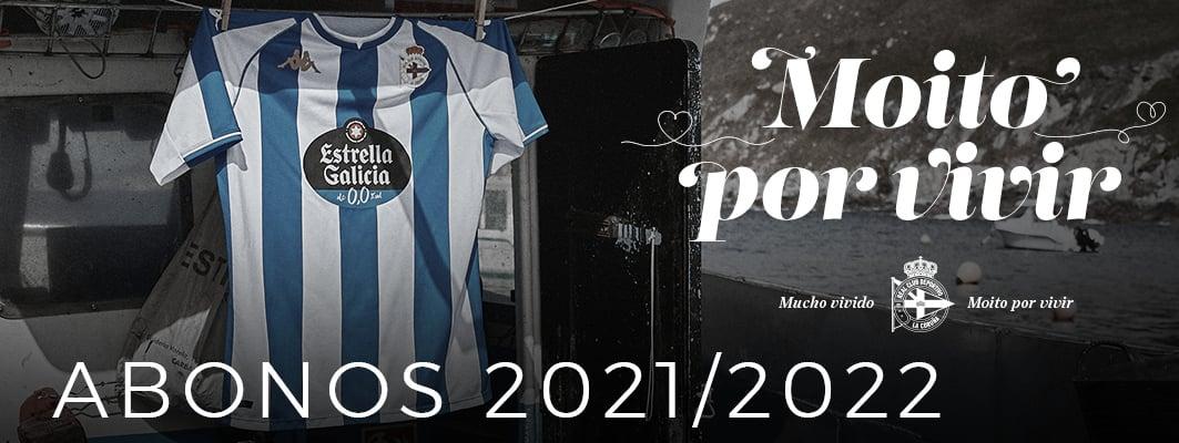 Así es la campaña de abonos del Deportivo para la temporada 2021 - 2022