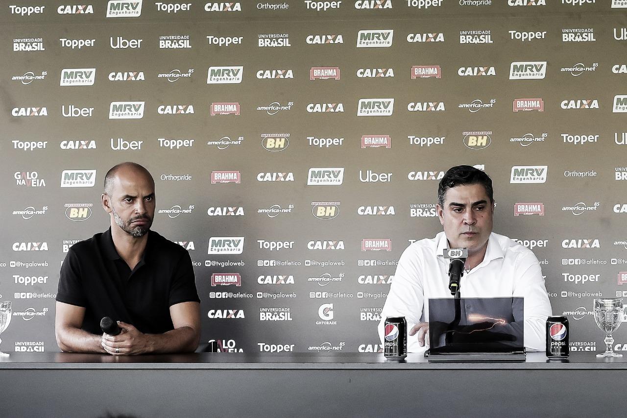 Sette Câmara confirma efetivação de Marques como diretor de futebol