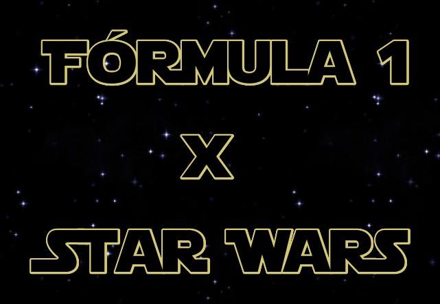 Cuando la F1 y Star Wars unen fuerzas