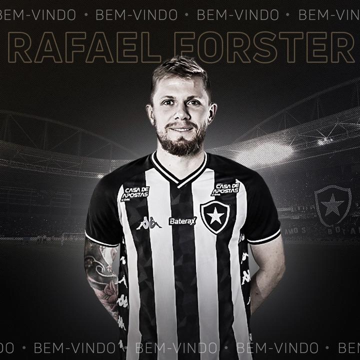 Um dia após apresentar Victor Luís, Botafogo anuncia zagueiro Rafael Forster