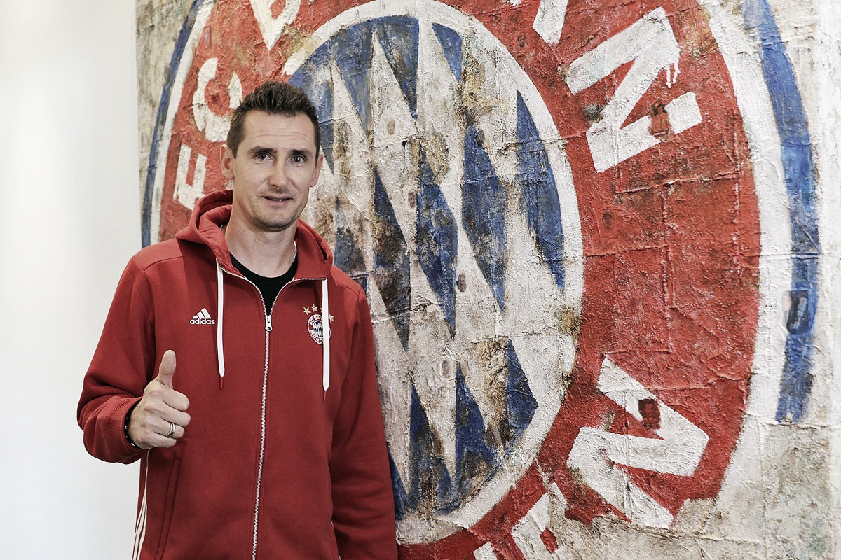 Maior artilheiro dos Mundiais, Miroslav Klose é anunciado como novo técnico do Bayern Sub-17