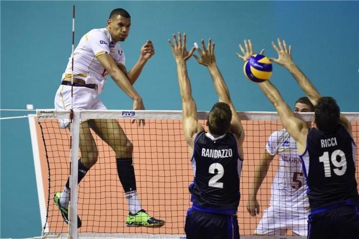 Volley - World League, l'Italia cede alla Francia