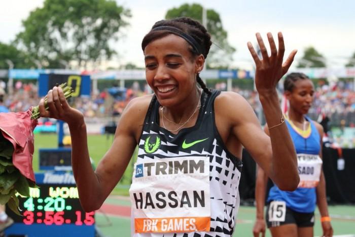 World Challenge IAAF, Hengelo: la Hassan vola nei 1500, Manyonga decolla nel lungo, Lasitskene a 2.04 nell'alto