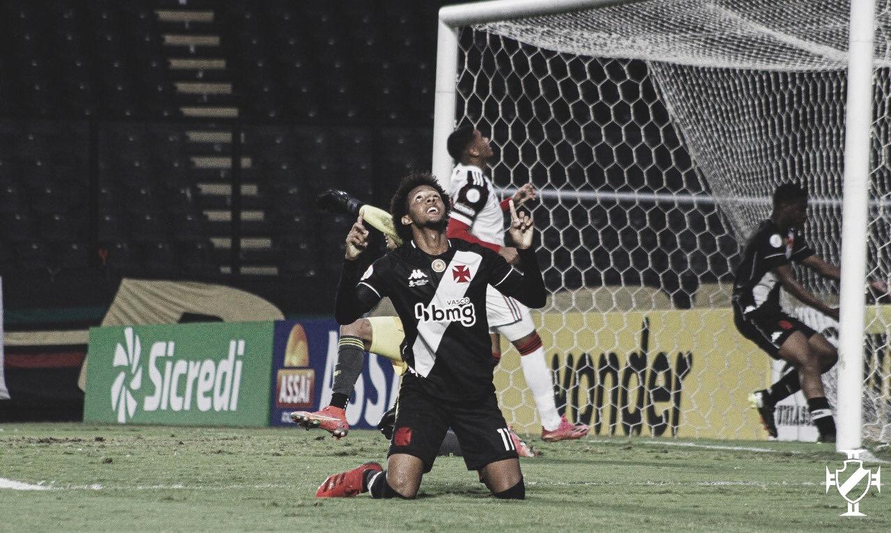 Vasco supera Flamengo e vence na ida da final do Brasileirão Sub-17