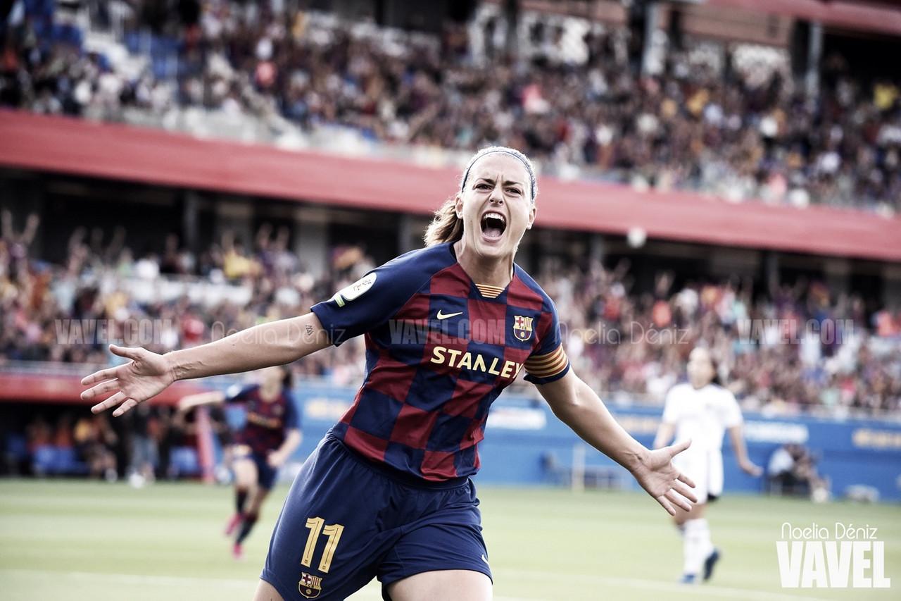 Alexia Putellas, la primera goleadora de la historia del Estadi Johan Cruyff